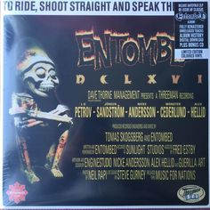 ENTOMBED - TO RIDE SHOOT STRAIGHT AND SPEAK THE TRUTH 2-LP RÖD VINYL på