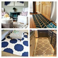 10 gorgeous inexpensive DIY rugs. A must see! Rugs