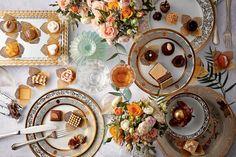 Mistura ideal: mesas de doces de casamento reúnem marcas diferentes