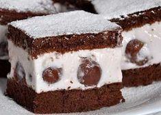 Prăjitură cu cremă de iaurt si visine. Simplă, pufoasă si sănătoasă Romanian Desserts, Food Cakes, Easy Desserts, Tiramisu, Cake Recipes, Caramel, Diy And Crafts, Sweet Treats, Cheesecake