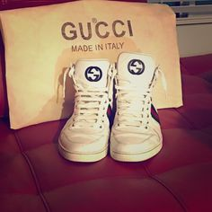 Gucci shoes Mens Gucci shoes size 10 UK and 11 US. Worn few times in good condition. Tons of life left in these baby's. No returns. Comes with dust bag. Gucci Shoes Sneakers