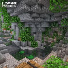 Plans Minecraft, Minecraft Building Guide, Minecraft Garden, Minecraft Images, Minecraft Cottage, Easy Minecraft Houses, Minecraft Castle, Minecraft Medieval, Minecraft House Designs