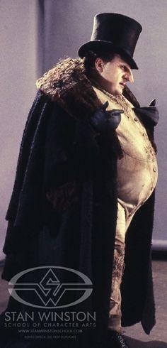 The Penguin from Tim Burton's 'Batman Returns' (1992). Costume Designer: Bob Ringwood