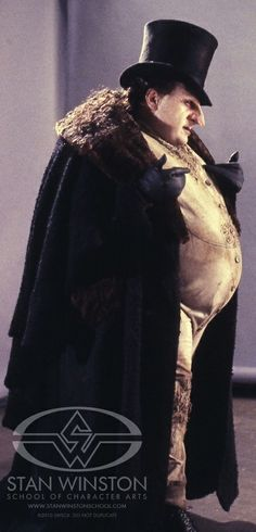 The Penguin from Tim Burton's 'Batman Returns' (1992). Costume Designer: Bob Ringwood