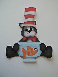 3D Paper Piecing  ~ 784 Cat in the Hat Disney Fish Bowl Embellishment