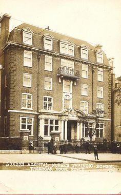 Tredegar House, Nurse Training School, London Hospital - opened 1895.