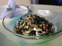 Farro and Kale Salad Recipe : Giada De Laurentiis : Food Network - FoodNetwork.com