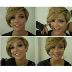 frankie sandford blonde