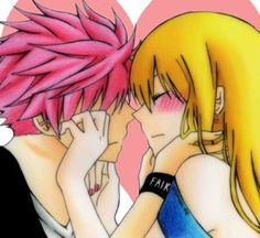Image about anime in Fairy Tail ♥ NaLu by Yume Fairy Tail Love, Fairy Tail Nalu, Fairy Tail Ships, Couples Fairy Tail, Natsu E Lucy, Gruvia, Fairytail, Anime Fairy, Anime Couples