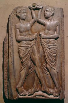 Anonymous French Artist  Soli Geminis (Gemini: The Twins)  France (13th Century)  Stone, 65 x 42 cm.  The Image of the Black in Western Art Research Project and Photo Archive, W.E.B. Du Bois Institute for African and African American Research, Harvard University