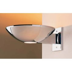 Caspio Polished Chrome Halogen Wall Sconce