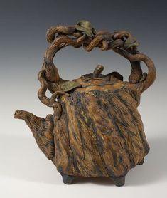 Tree-pot by Sticks and Stones Studio -- teapot tea