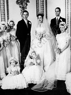 HRH Princess Margaret and Anthony Armstrong-Jones  May 6, 1960