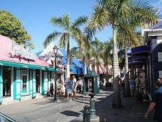 Street scene in Philipsburg, Sint Maarten