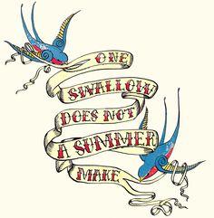 tattoo-inspired illustration