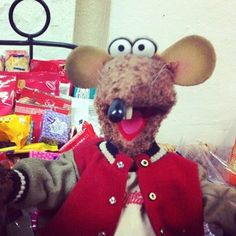 """""""Classic rat, getting into all the food"""" 