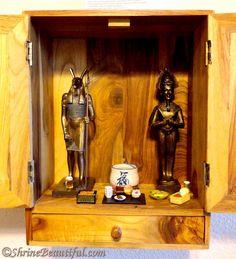 Kemetic Pagan Shrine