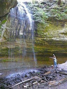 Tannery Falls, Feeling the spray of the falls, Upper Peninsula, Michigan | Flickr - Photo Share