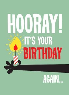 Send Out Cards - Your First Card Is Free! - Birthday Humor -