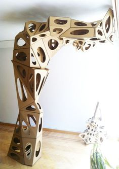 CS Design The topics with This Necessity associated with Porcelain figurine emerged arbitrarily, chucked Cardboard Sculpture, Cardboard Paper, Cardboard Furniture, Cardboard Crafts, Paper Clay, Sculpture Lessons, Sculpture Projects, Sculpture Art, Art Projects