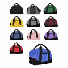 """DALIX 12″ Small Duffle Bag Gym Mini Travel Overnight Bag Ebony Gray Blue Red View """"DALIX 12″ Small Duffle Bag Gym Mini Travel Overnight Bag Black Gray Blue Red"""" on eBay Price: 5.99 Payments: Ends on : 2021-10-19 14:36* that are:57( The post DALIX 12″ Small Duffle Bag Gym Mini Travel Overnight Bag Black Gray Bl… appeared first on BookCheapTravels.com."""