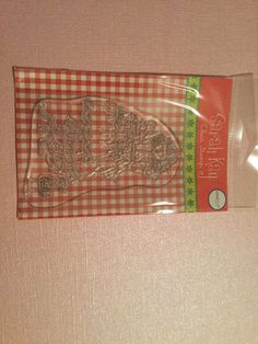 Clear Stamp Stampavie By Sarah Kay Noel Treats Rubber Stamp