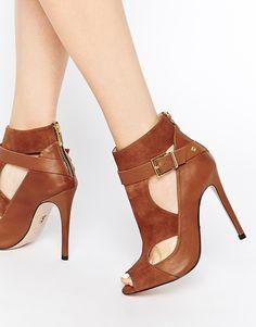 Enlarge Supertrash Amber Leather Cut Out Shoes