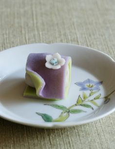 Japanese Sweets, キキョウ (bellflower)