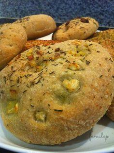 Cocina Fácil Sin Gluten: Focaccinas sin gluten