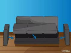 Imagem intitulada Reupholster a Couch Step 10