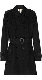 Burberry LondonMid-length gabardine trench coat