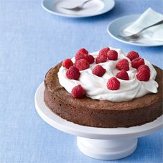 Flourless Chocolate Cake Recipe: Uses ground roasted almonds instead of flour--very delicious! Also wonderful for gluten-free or Paleo diets.
