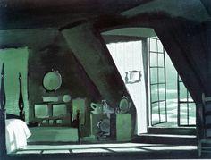 Visual Development from Peter Pan by Mary Blair - Disney Concepts & Stuff Mary Blair, Landscape Background, Animation Background, Disney Concept Art, Disney Art, Disney Magic, Color Script, Vladimir Kush, Visual Development