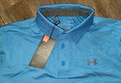 Under Armour Golf Polo Shirt Heat Gear M Short Sleeve Performance Stretch #Underarmour #ActivewearShortSleeve #ActivewearBusinessCasualFormalPartyCocktailTravelWorkwear Magnetic Eyelashes, Golf Polo Shirts, Under Armour, Active Wear, Polo Ralph Lauren, Sleeve, Mens Tops, Ebay, Men's