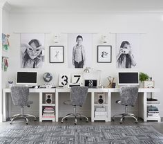 The Parsons Smart™ Desk is the ultimate solution for their study space. Kids Homework Room, Kids Homework Station, Kid Desk, Kids Desk Space, Kids Workspace, Boys Desk, Kids Office, Office Playroom, Gray Playroom