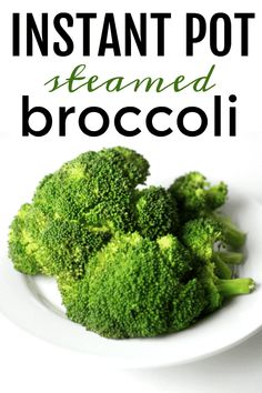 If you love a quick side dish, you're going to love this Instant Pot Broccoli. Steam up perfect broccoli florets in under 5 minutes with minimal effort with your Instant Pot! Makes the perfect side dish for Chinese New Year Dinners! Quick Side Dishes, Vegetable Side Dishes, Side Dish Recipes, Vegetable Recipes, Main Dishes, Dishes Recipes, Instant Pot Pressure Cooker, Pressure Cooker Recipes, Pressure Cooking