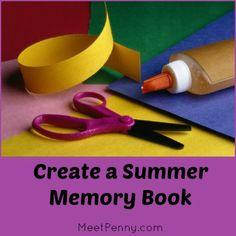 Summer Bucket List: create a summer memory book