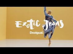#Hiplet ballerinas present Desigual Exotic Jeans SS17 - YouTube