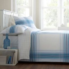 Abode Sorrento Check Blue White Reversible Double Duvet Quilt Cover Bedding Set, http://www.amazon.co.uk/dp/B00BHHDJK8/ref=cm_sw_r_pi_awdl_QaB7wb8J9S4NG