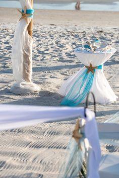 Beach Ceremony, Beach Weddings, Florida Beaches, Ceremony Decorations, Design, Weddings At The Beach