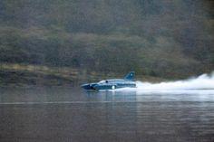 Bluebird K7 at high speed in December 1966
