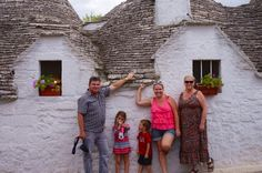 Erin Bender and family in Italy - SKYSCANNER