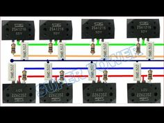 HOW TO READ ELECTRONIC SCHEMATIC (MEMBACA GAMBAR ELEKTRONIK) - YouTube Dc Circuit, Circuit Diagram, Electronic Circuit Projects, Electronic Engineering, Electronic Schematics, Stereo Amplifier, Kit, Planer, Youtube