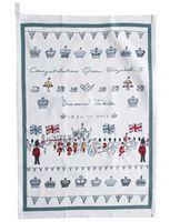 Tea Towel - 'Diamond Jubilee'