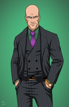 Lex Luthor (Earth-27) commission by phil-cho.deviantart.com on @DeviantArt