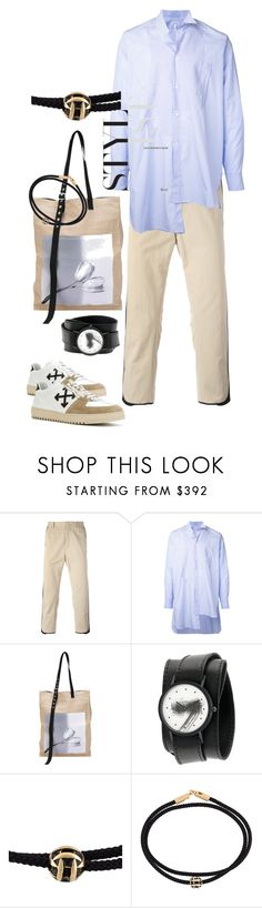 """""""S U M M E R //  MENSWEARE"""" by statuslusso ❤ liked on Polyvore featuring Ports 1961, Loewe, Raf Simons, Luis Morais, Off-White, men's fashion and menswear"""
