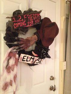 1, 2, Freddy's coming for u wreath