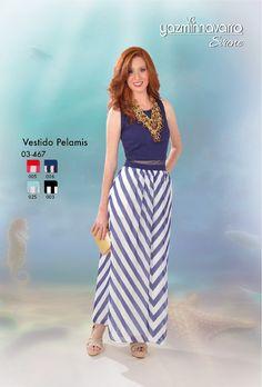 Vestido en algodón licrado y seda satinada con detalle en malla en la cintura. Primavera-Verano 2017