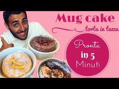 Finalmente un modo veloce per preparare una buonissima torta!  Mug cake  in 5 minuti!