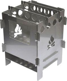 Bushbox bolsillo exterior estufa, estufa de Bushcraft